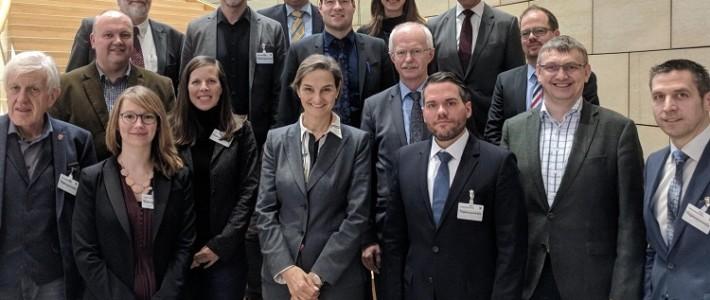 09.03.2018: Alexander Jaegers zu Gast im Landtag