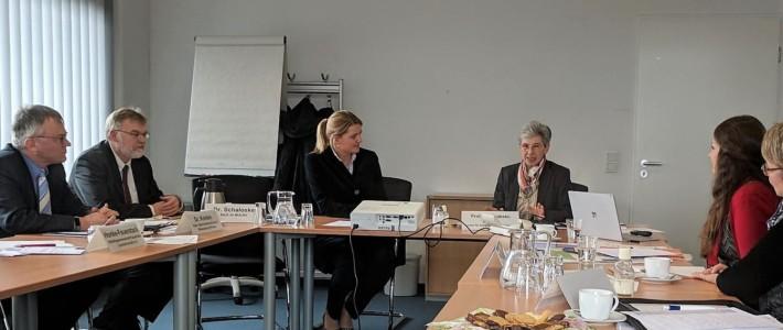 20.03.2018: ZeLE-Beiratssitzung mit Christina Schulze Föcking