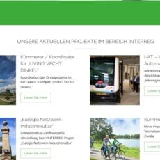 """Nieuw op onze website: menupunt """"projecten"""""""