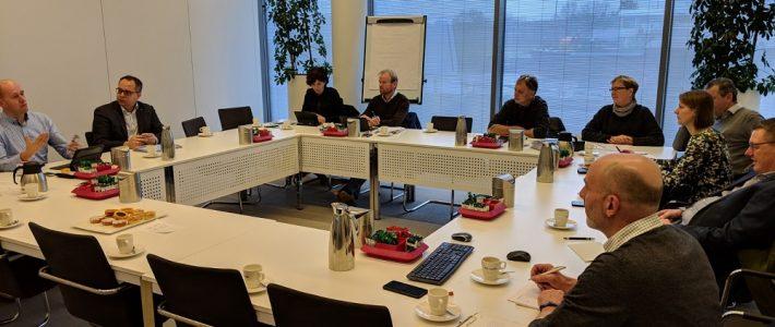 11.01.2019: Bijeenkomst projectpartners berkeln 2018-2020