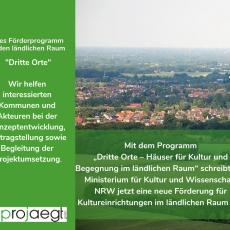 "22.03.2019: Förderprogramm ""Dritte Orte"""