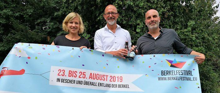 """08.08.2019: Organisation """"Berkelfestival 2019"""" auf der Zielgeraden"""