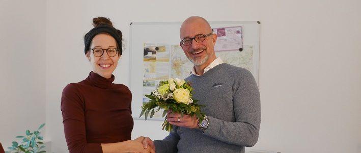 06.01.2020: Neue Mitarbeiterin: Linn Westermann